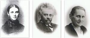 Frits Hansen med koner